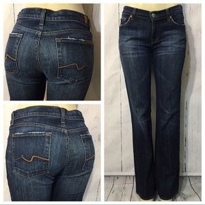 7 For All Mankind Boot Cut Jeans Size 29 X 33